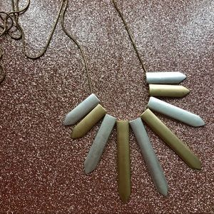 Matte Gold $ Silver Necklace